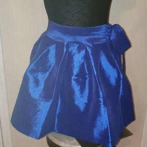 Chelsea Royal Blue satin bell skirt 💙